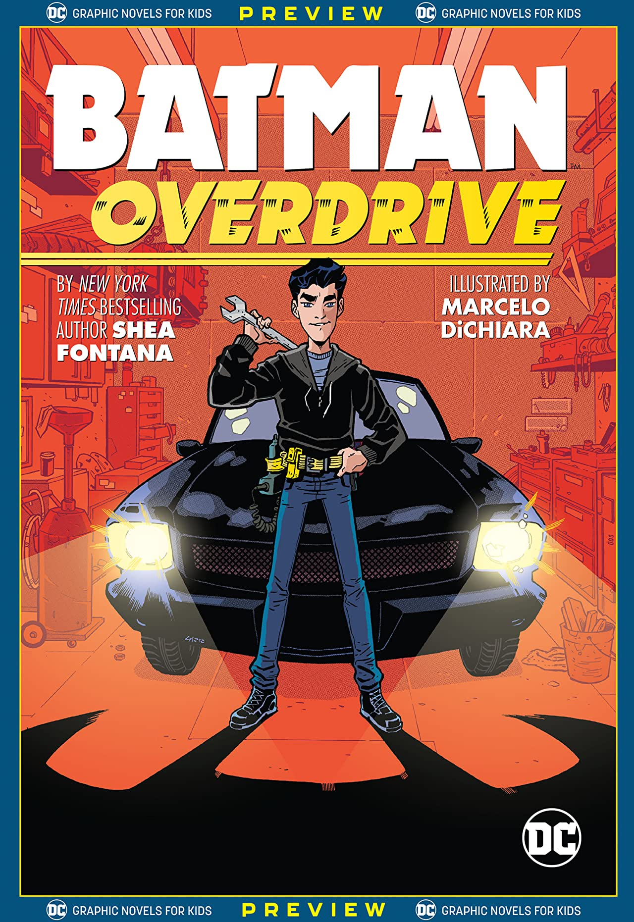DC Graphic Novels for Kids Sneak Peeks: Batman: Overdrive (2020-) No.1