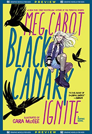 DC Graphic Novels for Kids Sneak Peeks: Black Canary: Ignite (2020-) No.1