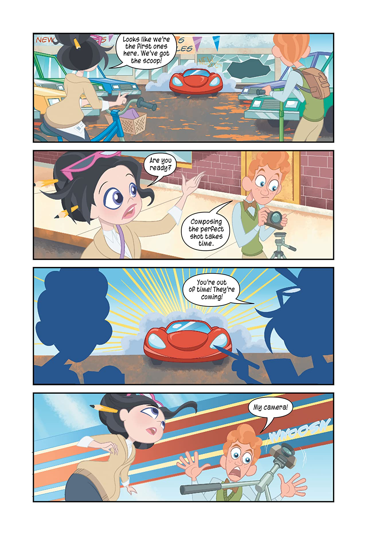 DC Graphic Novels for Kids Sneak Peeks: DC Super Hero Girls: Midterms (2020-) #1
