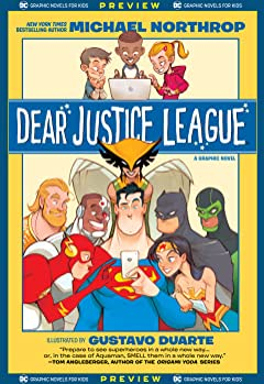 DC Graphic Novels for Kids Sneak Peeks: Dear Justice League (2020-) #1