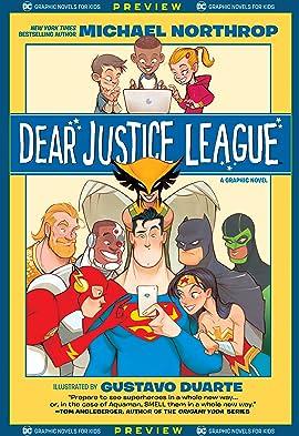 DC Graphic Novels for Kids Sneak Peeks: Dear Justice League (2020-) #1