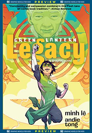 DC Graphic Novels for Kids Sneak Peeks: Green Lantern: Legacy (2020-) #1