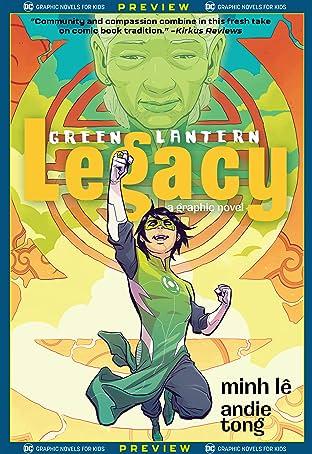 DC Graphic Novels for Kids Sneak Peeks: Green Lantern: Legacy (2020-) No.1