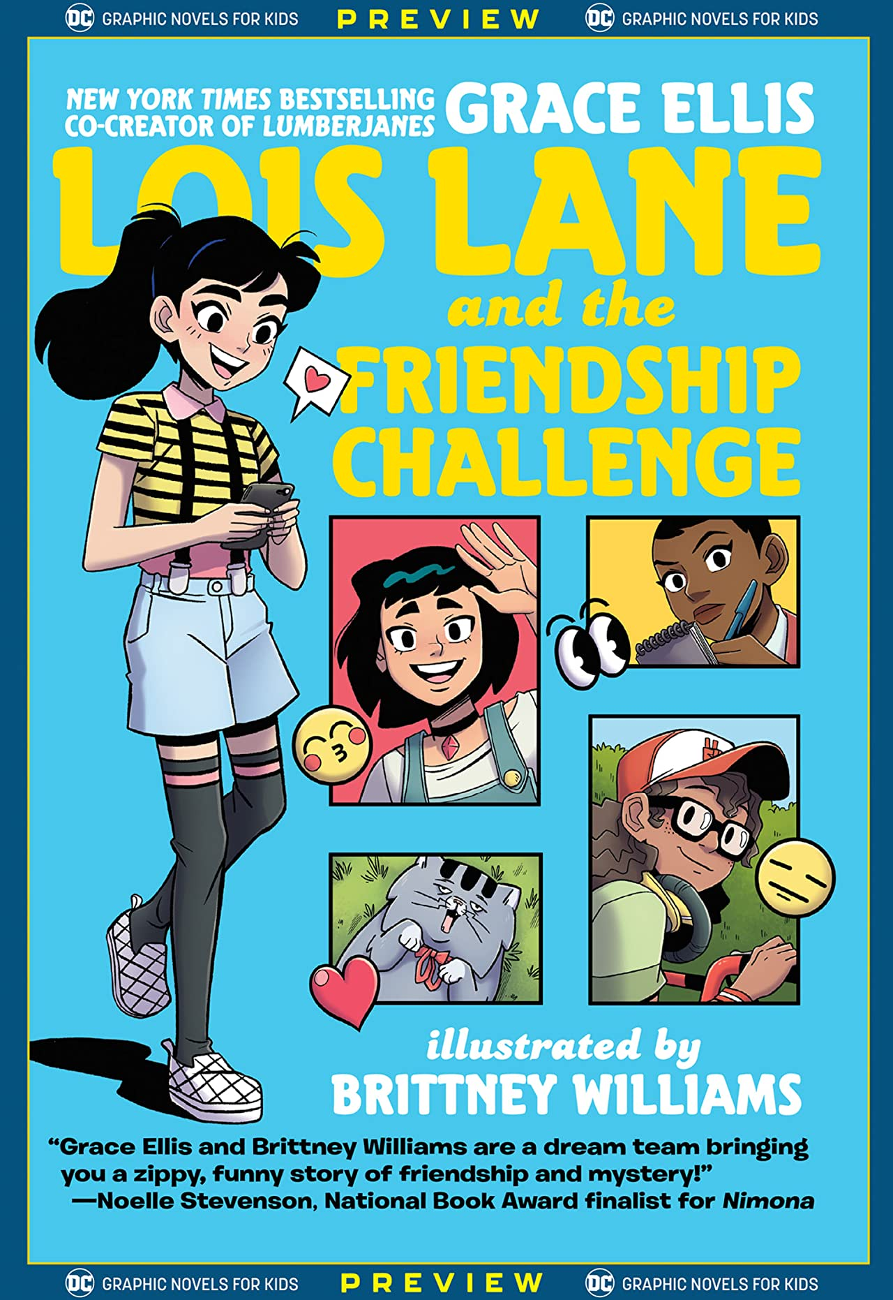 DC Graphic Novels for Kids Sneak Peeks: Lois Lane and the Friendship Challenge (2020-) #1