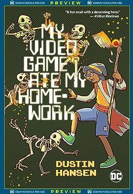 DC Graphic Novels for Kids Sneak Peeks: My Video Game Ate My Homework (2020-) #1