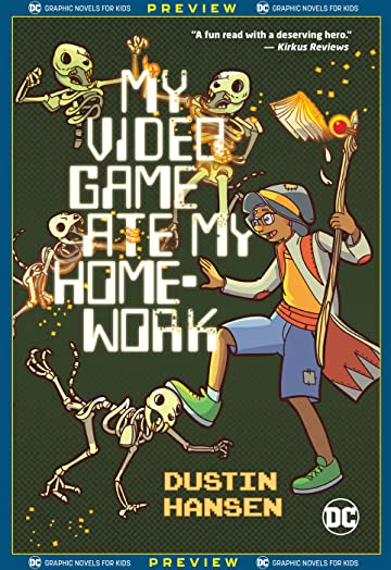 DC Graphic Novels for Kids Sneak Peeks: My Video Game Ate My Homework (2020-) #1