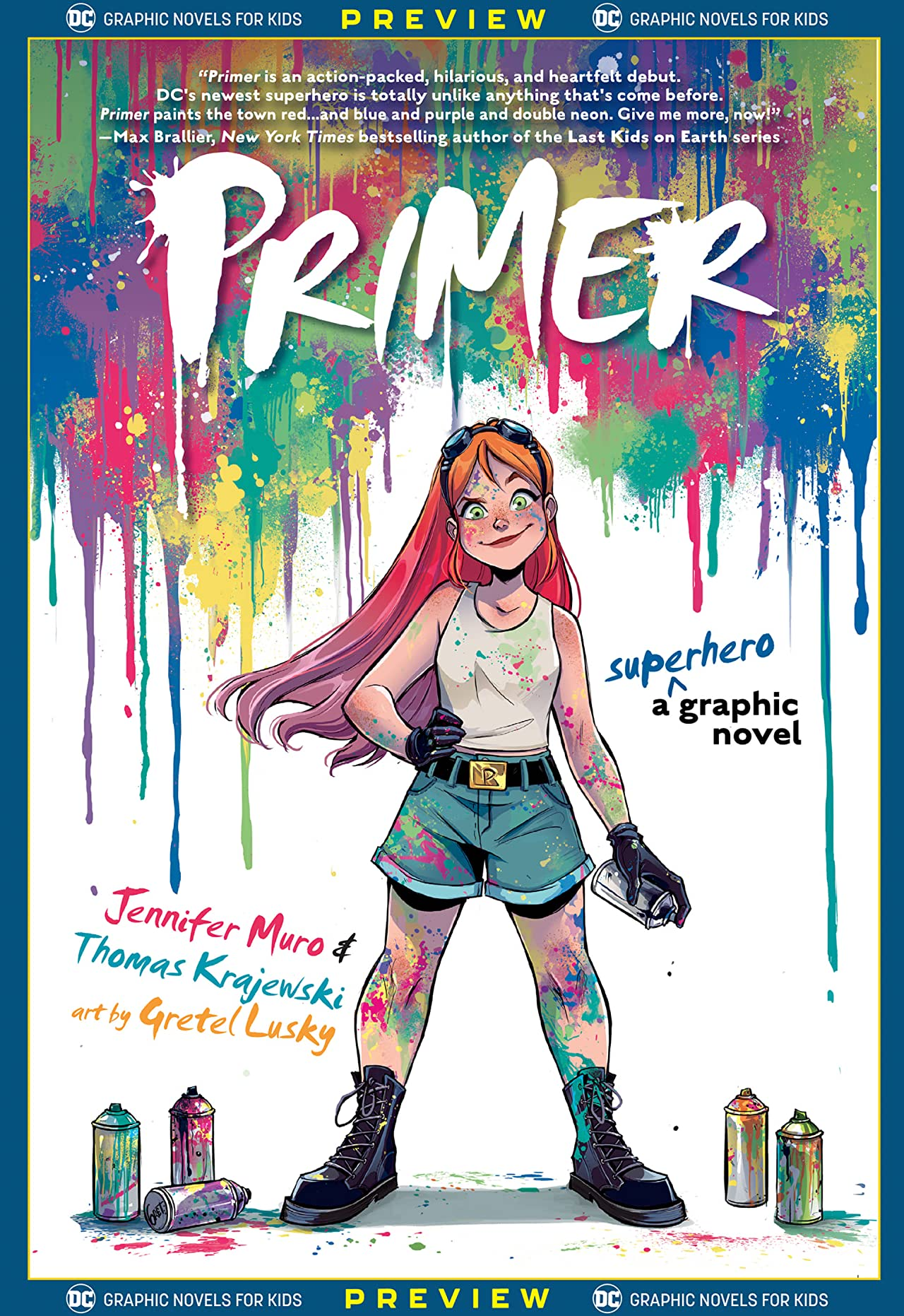 DC Graphic Novels for Kids Sneak Peeks: Primer (2020-) #1