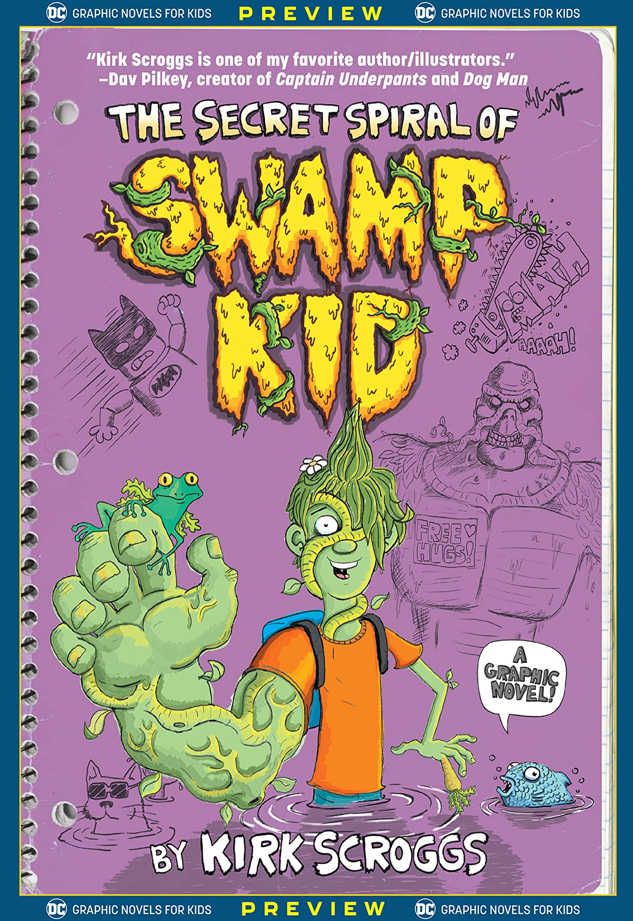 DC Graphic Novels for Kids Sneak Peeks: The Secret Spiral of Swamp Kid (2020-) #1
