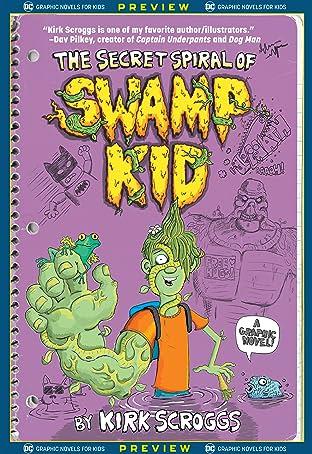 DC Graphic Novels for Kids Sneak Peeks: The Secret Spiral of Swamp Kid (2020-) #1