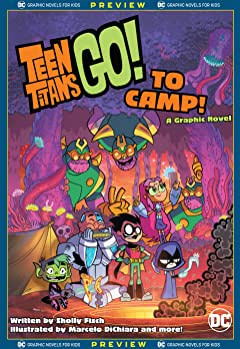 DC Graphic Novels for Kids Sneak Peeks: Teen Titans Go! to Camp (2020-) #1