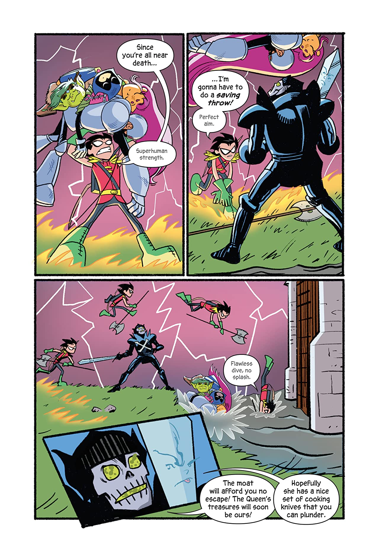 DC Graphic Novels for Kids Sneak Peeks: Teen Titans Go! Roll With It! (2020-) #1