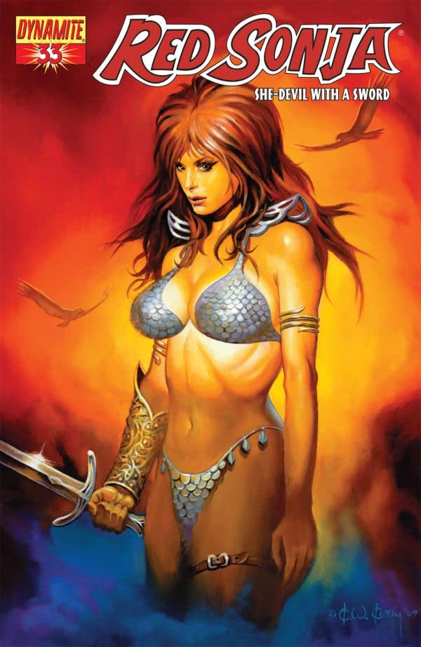 Red Sonja: She-Devil With a Sword #33
