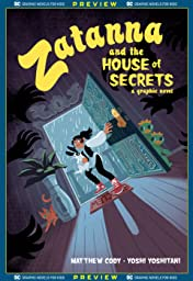 DC Graphic Novels for Kids Sneak Peeks: Zatanna and the House of Secrets (2020-) #1