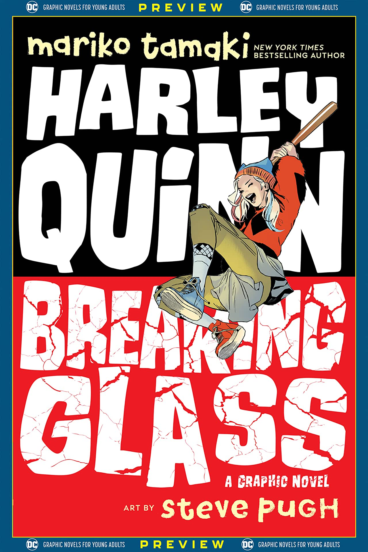 DC Graphic Novels for Young Adults Sneak Previews: Harley Quinn: Breaking Glass (2020-) No.1