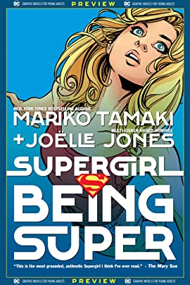DC Graphic Novels for Young Adults Sneak Previews: Supergirl: Being Super (2020-) #1