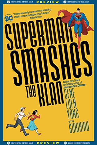 DC Graphic Novels for Young Adults Sneak Previews: Superman Smashes the Klan (2020-) #1