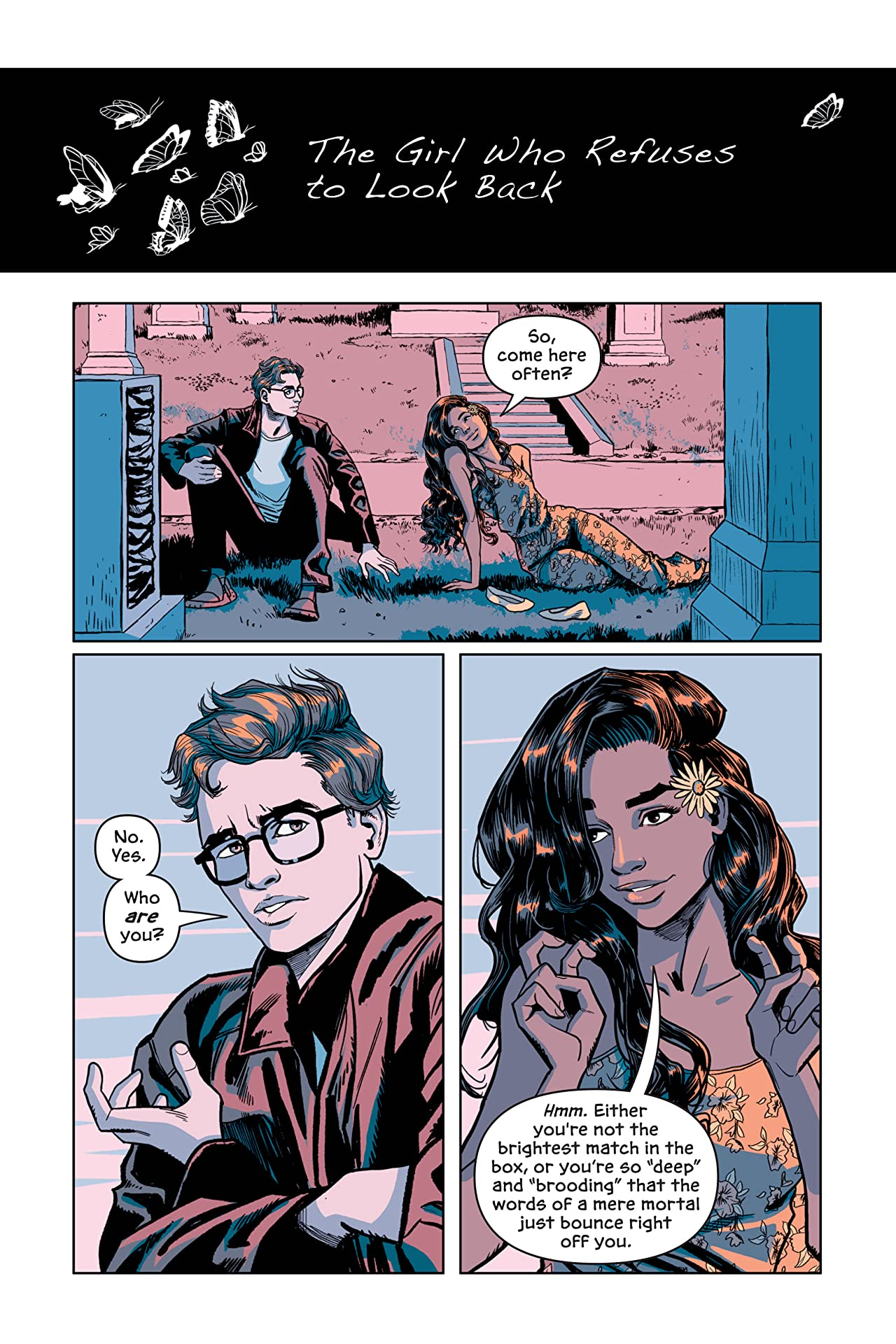 DC Graphic Novels for Young Adults Sneak Previews: Victor and Nora: A Gotham Love Story (2020-) #1
