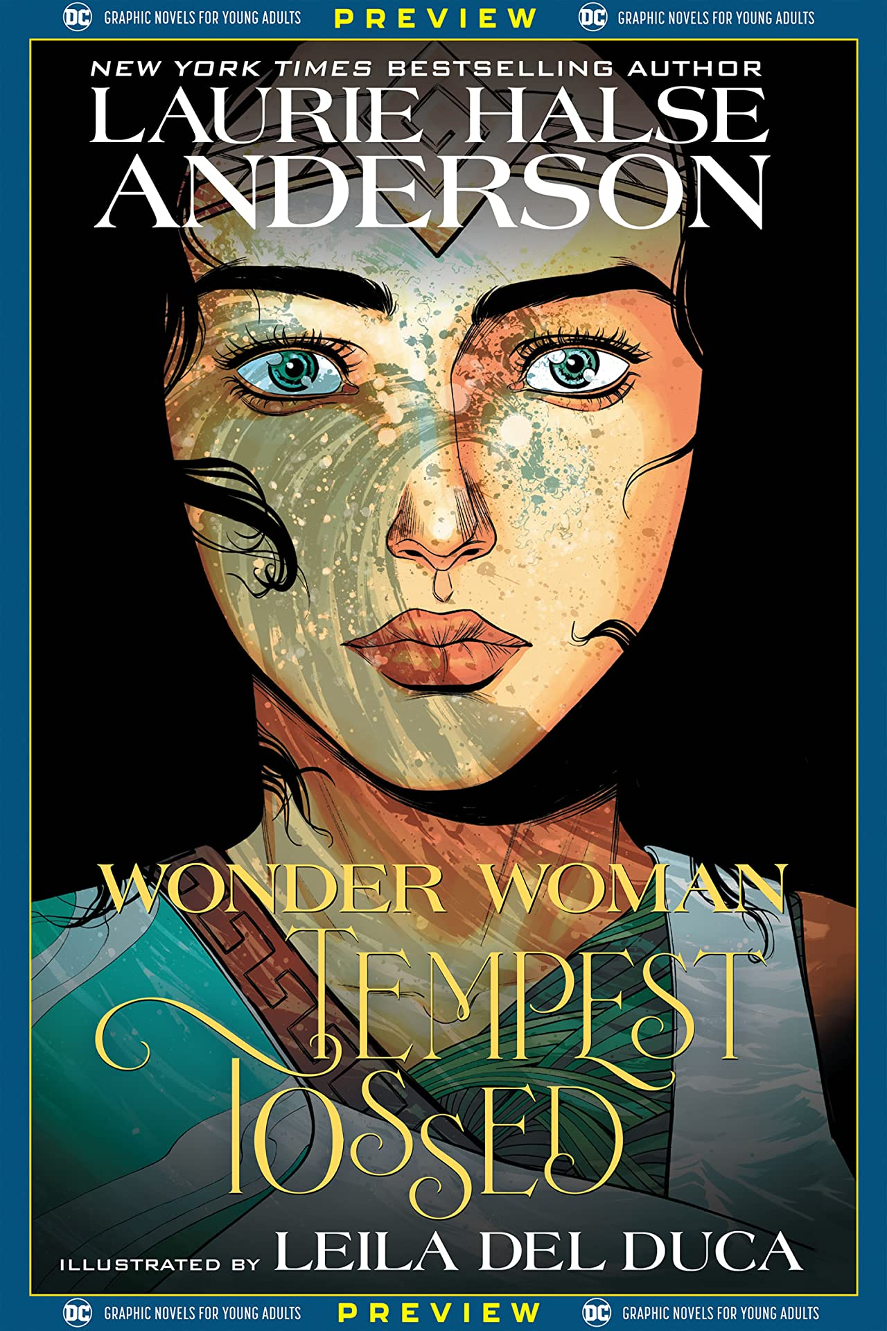 DC Graphic Novels for Young Adults Sneak Previews: Wonder Woman: Tempest Tossed  (2020-) #1