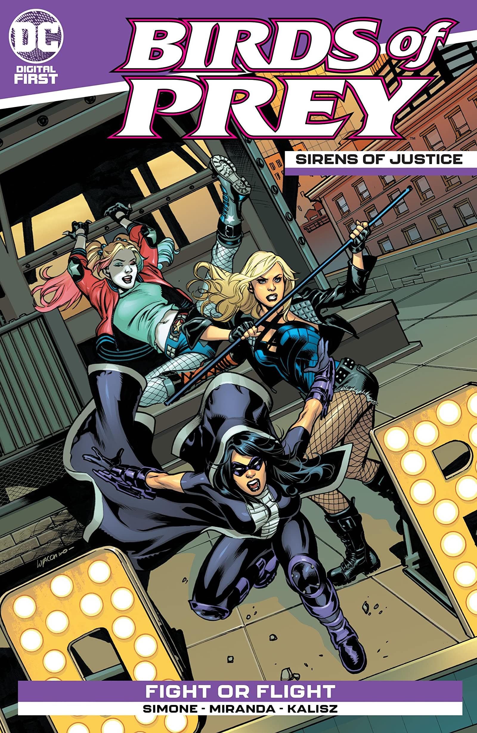 Birds Of Prey Sirens Of Justice 1 Comics By Comixology