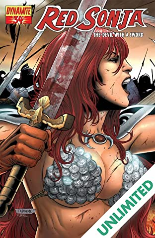 Red Sonja: She-Devil With a Sword #34