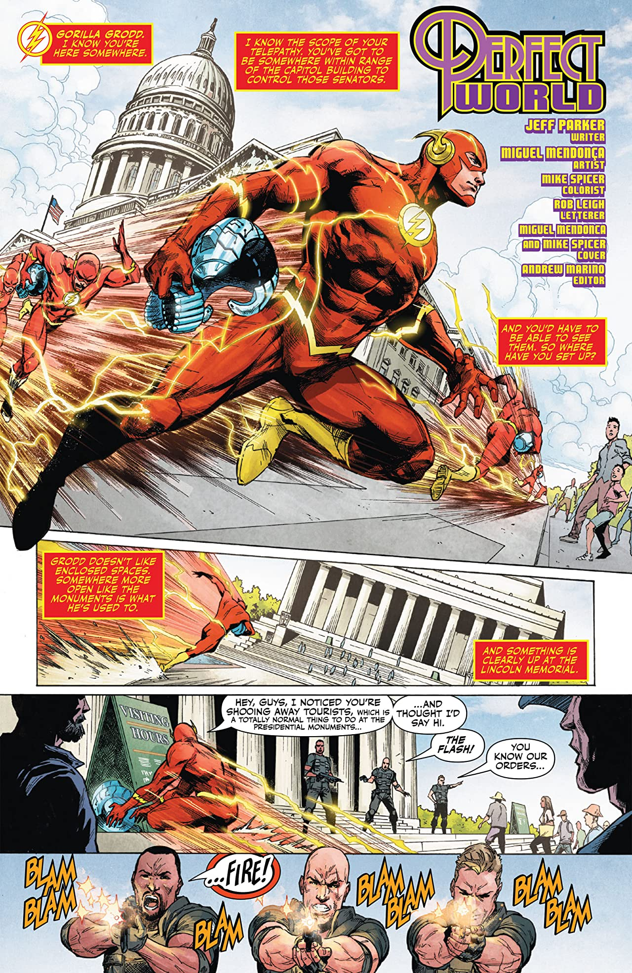 Flash: Fastest Man Alive #6