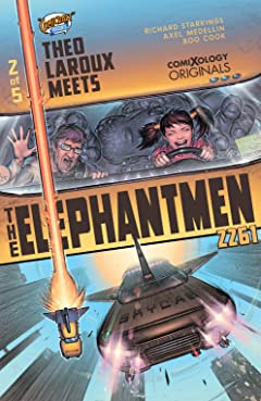 Elephantmen 2261 Season Three (comiXology Originals) No.2 (sur 5): Theo Laroux Meets The Elephantmen!