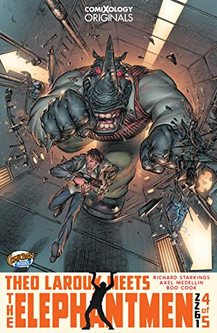 Elephantmen 2261 Season Three (comiXology Originals) #4 (of 5): Theo Laroux Meets The Elephantmen!