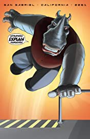 Elephantmen 2261 Season Three (comiXology Originals) No.4 (sur 5): Theo Laroux Meets The Elephantmen!