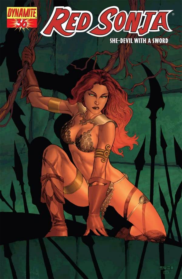 Red Sonja: She-Devil With a Sword #36