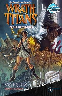 Wrath of the Titans: Spanish Edition #1