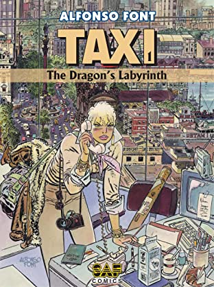 Taxi Tome 1: The Dragon's Labyrinth