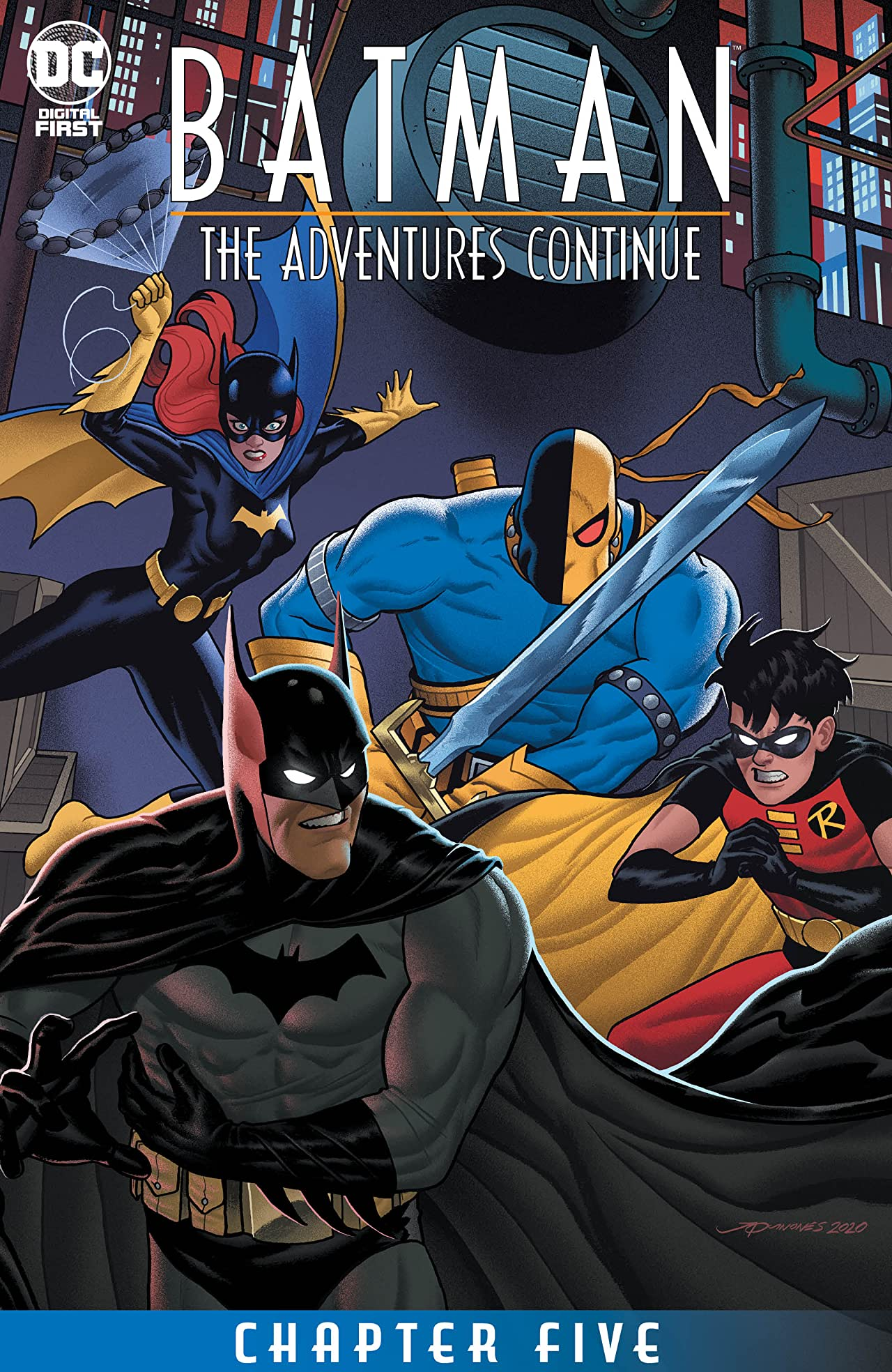 Batman: The Adventures Continue (2020-) #5