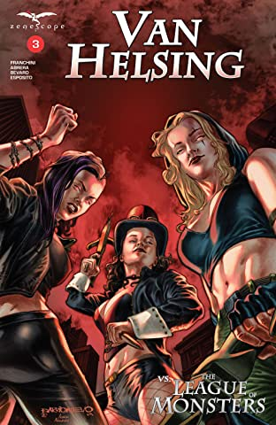 Van Helsing vs The League of Monsters No.3: vs The League of Monsters