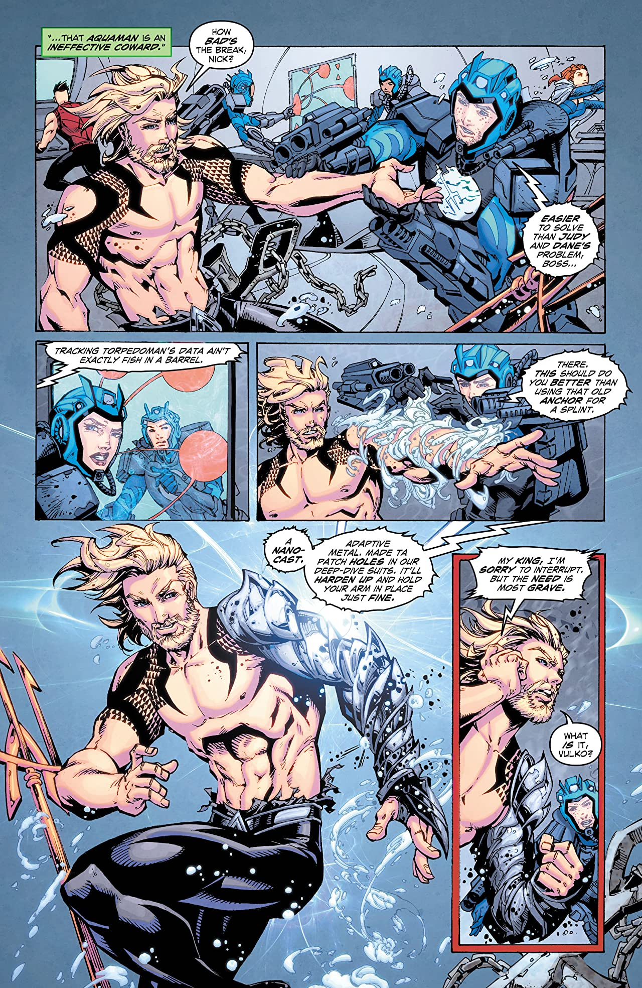 Aquaman: Deep Dives #7
