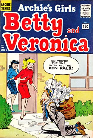 Archie's Girls Betty & Veronica No.91