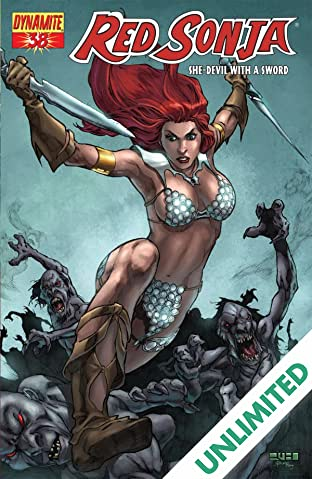 Red Sonja: She-Devil With a Sword #38