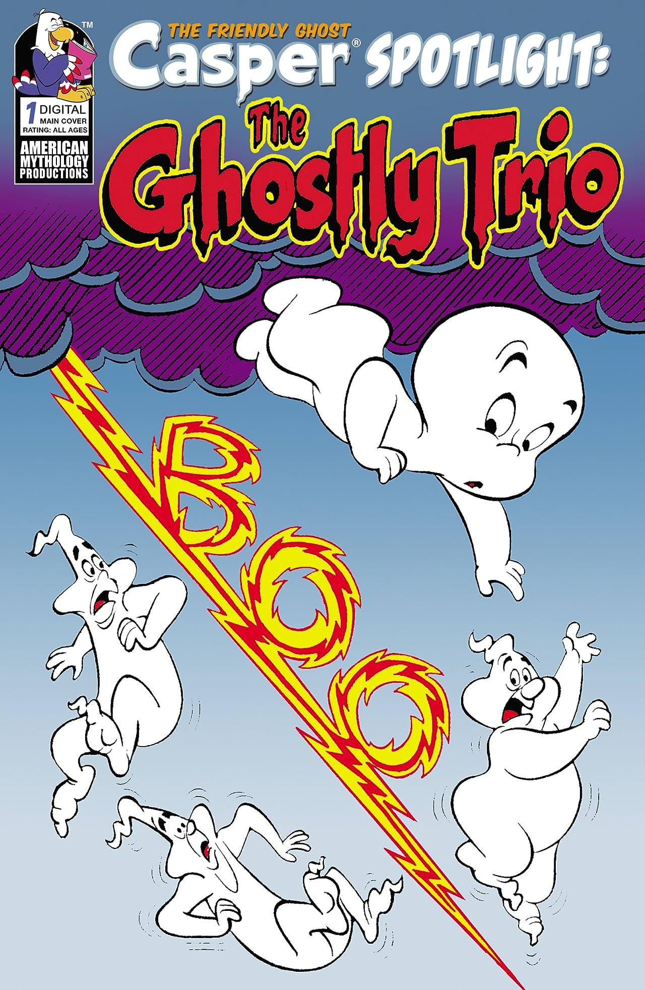 Casper Presents The Ghostly Trio No.1