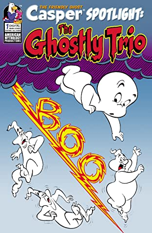 Casper Presents The Ghostly Trio #1