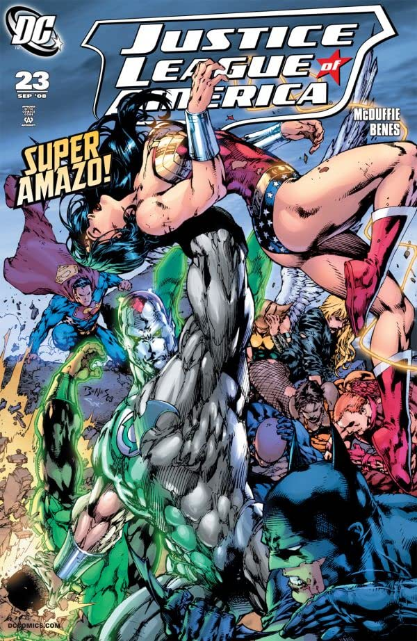 Justice League of America (2006-2011) #23