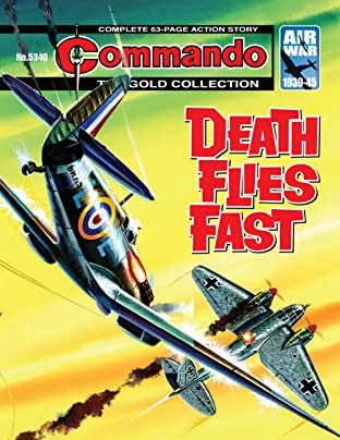 Commando No.5340: Death Flies Fast
