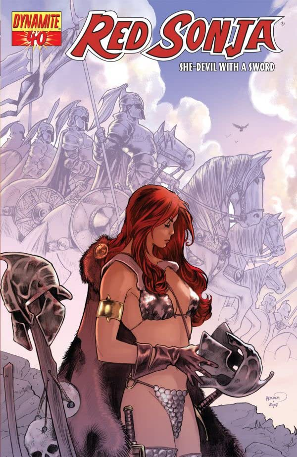 Red Sonja: She-Devil With a Sword #40