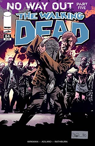 The Walking Dead #84