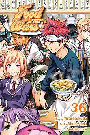 Food Wars!: Shokugeki no Soma Vol. 36: Shokugeki No Soma