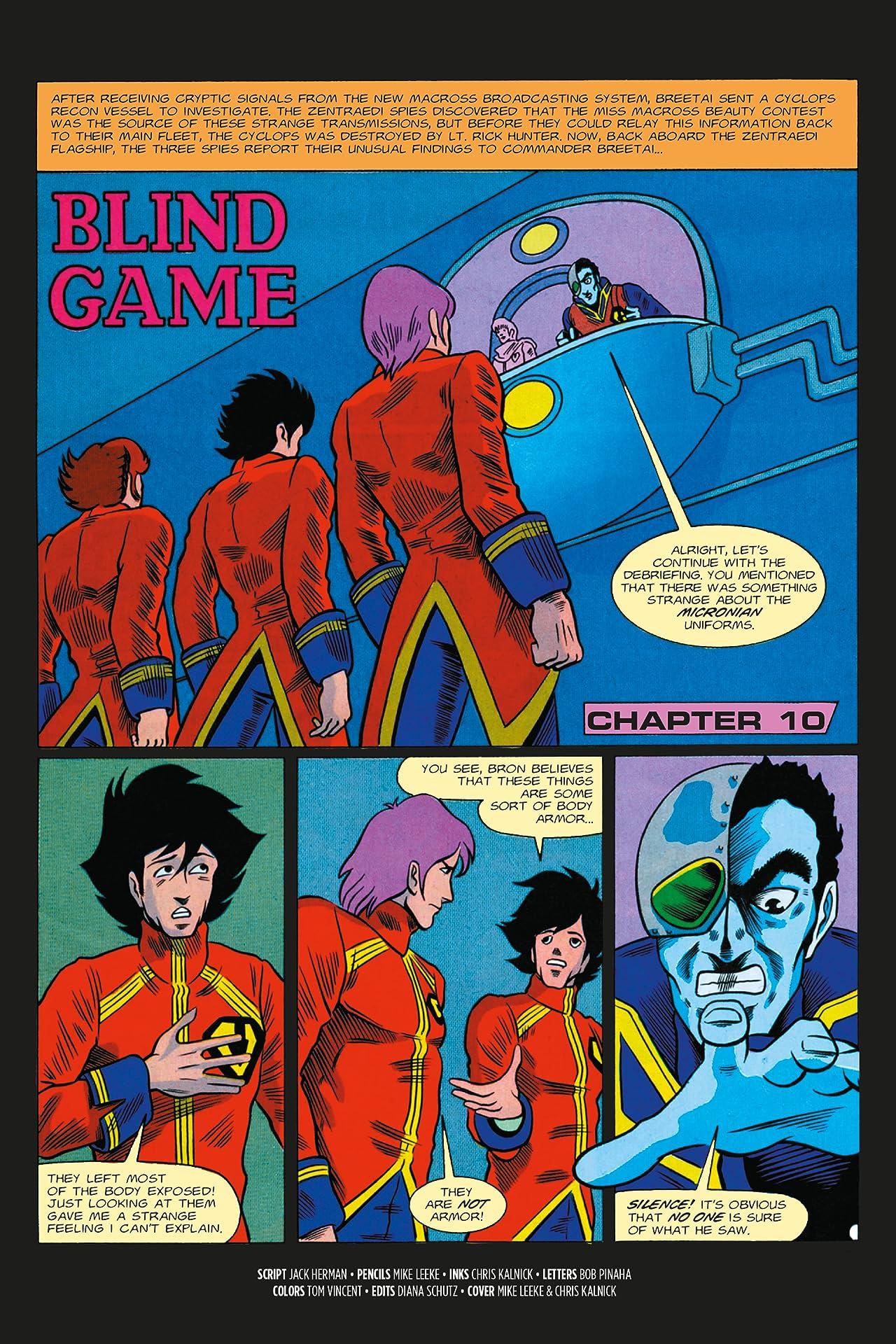 The Macross Saga No.10: Blind Game