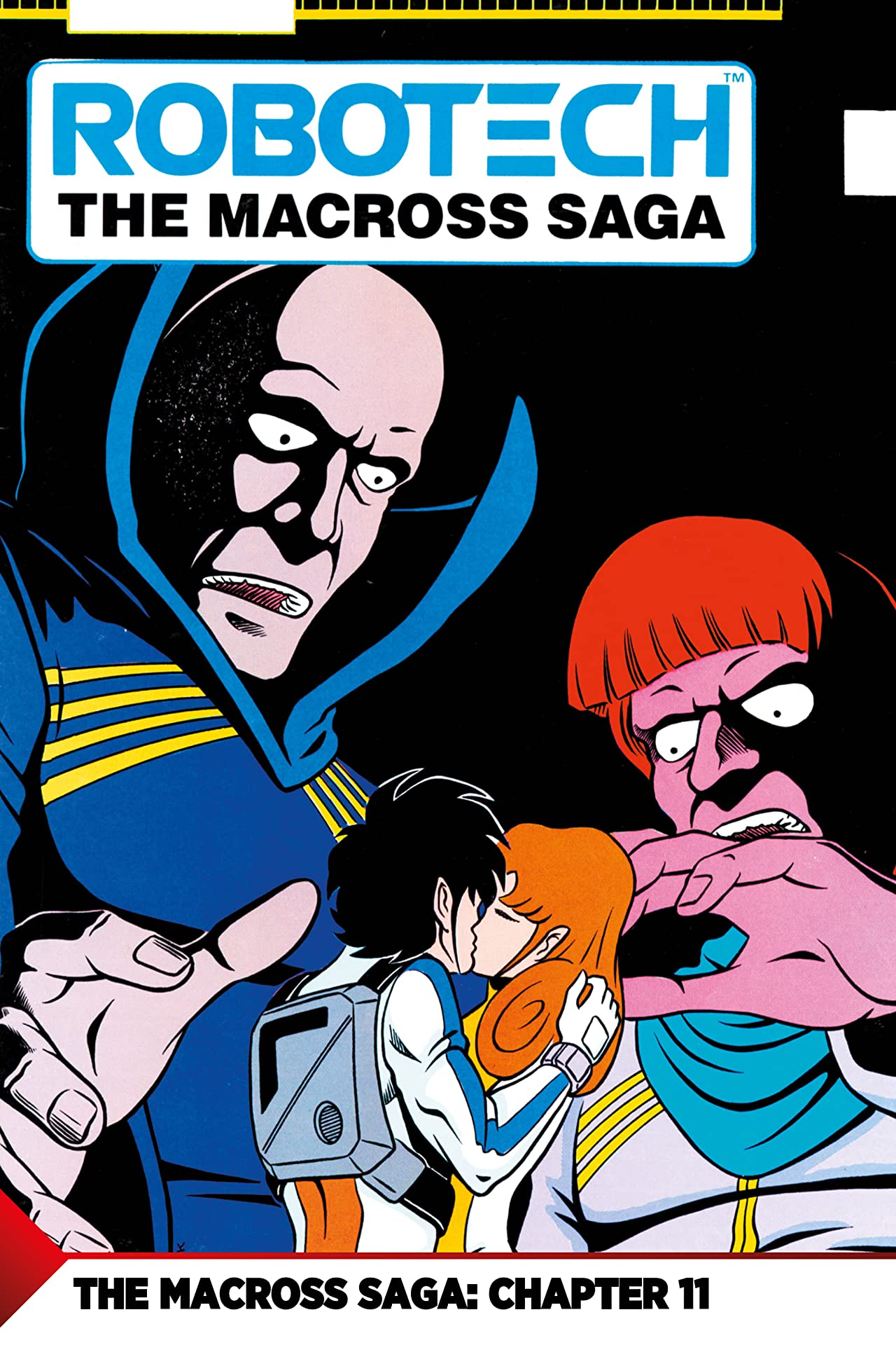 The Macross Saga No.11: First Contact