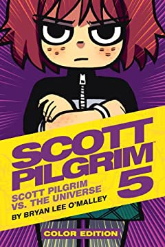 Scott Pilgrim Vol. 5: Scott Pilgrim Vs. The Universe -  Color Edition