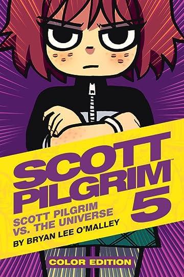 Scott Pilgrim Tome 5: Scott Pilgrim Vs. The Universe -  Color Edition