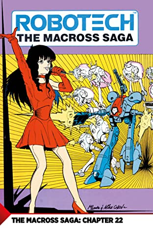 The Macross Saga No.22: Battle Hymn