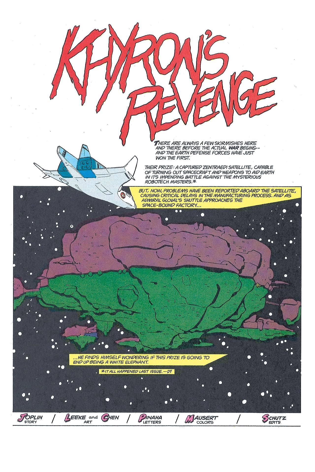 The Macross Saga #31: Khyron's Revenge