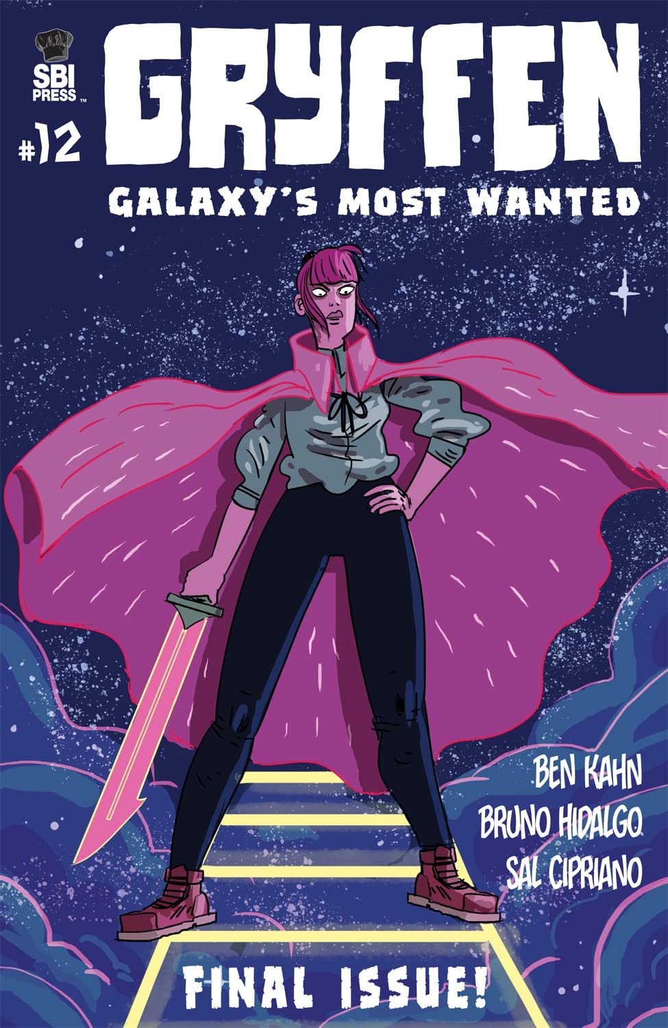 Gryffen: Galaxy's Most Wanted #12